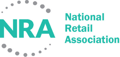 NRA Logo Horizontal Charcoal and Green